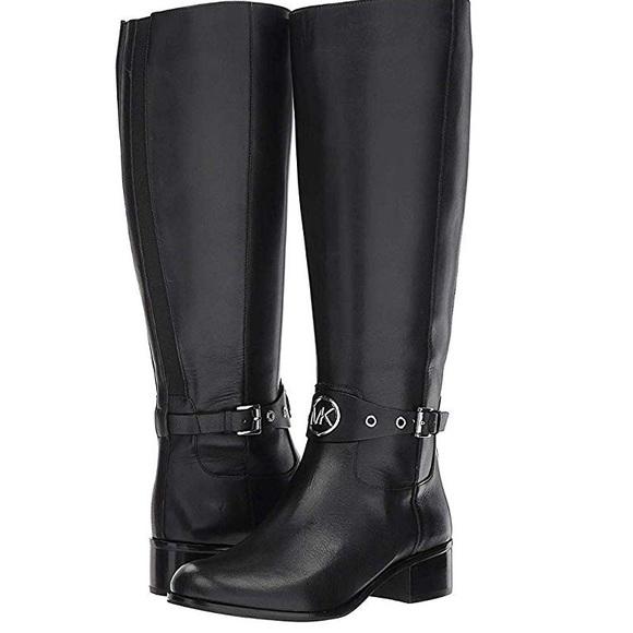 Michael Kohls Black Riding Boots